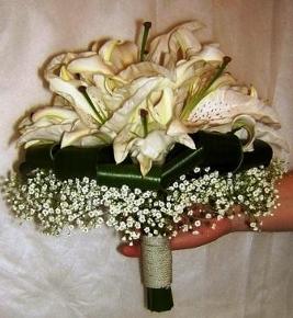 Свадебная лилия своими руками